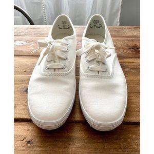White Keds canvas shoe